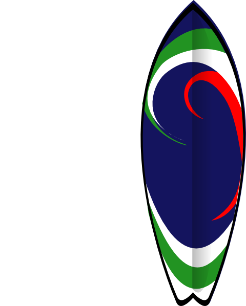 Free printable surfboard clipart image stock Sports Clipart Surfboard Clipart Gallery ~ Free Clipart Images image stock