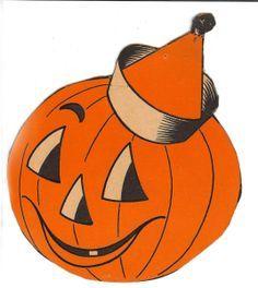 Clip art google search. Free printable vintage halloween clipart