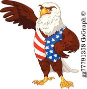 Free proud to be an american clipart clip royalty free stock Proud American Clip Art - Royalty Free - GoGraph clip royalty free stock