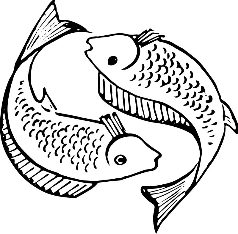 Free public domain commercial use fish with letter f clipart clip freeuse Christian Fish Symbol | Creation7.com - Free Vector Art in 2019 ... clip freeuse