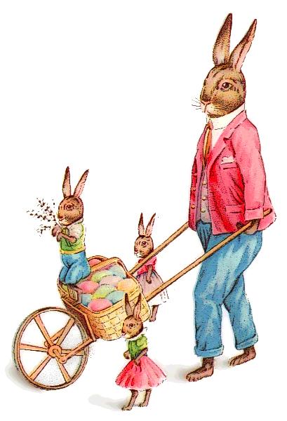 Free public domain vintage rabbit easter images clipart clipart transparent Free Easter Bunny Clipart - Public Domain Holiday/Easter clip art ... clipart transparent