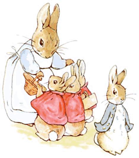Free public domain vintage rabbit easter images clipart image transparent download Peter Rabbit (stories and illustrations) are public domain. Some ... image transparent download