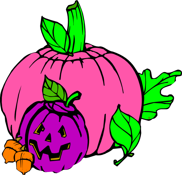 Free pumpkin face clipart stock Girly Pumpkin Clip Art at Clker.com - vector clip art online ... stock
