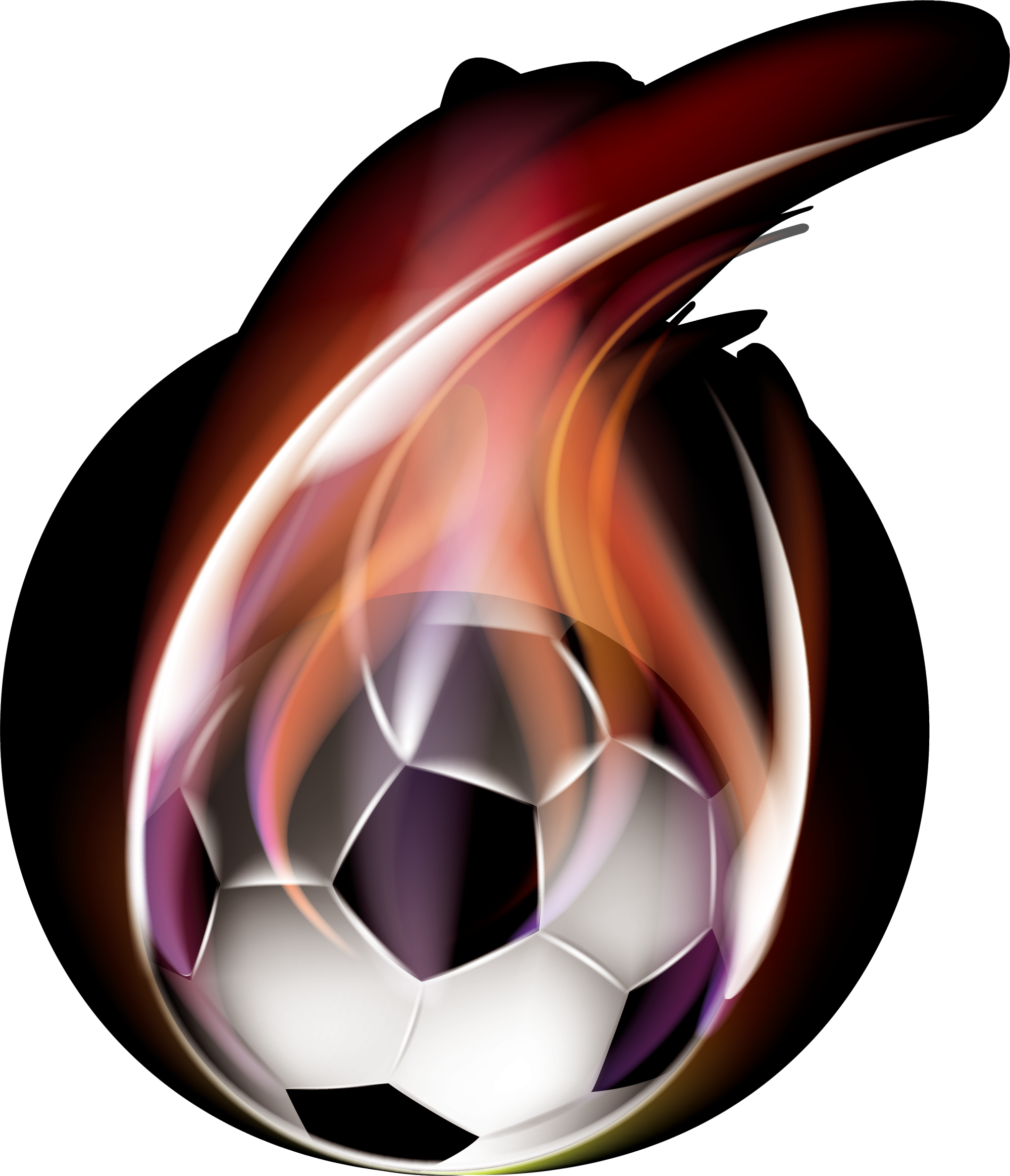 Free purple football clipart png clipart royalty free stock 2014 FIFA World Cup Football Sport - Red flame soccer 2000*2328 ... clipart royalty free stock