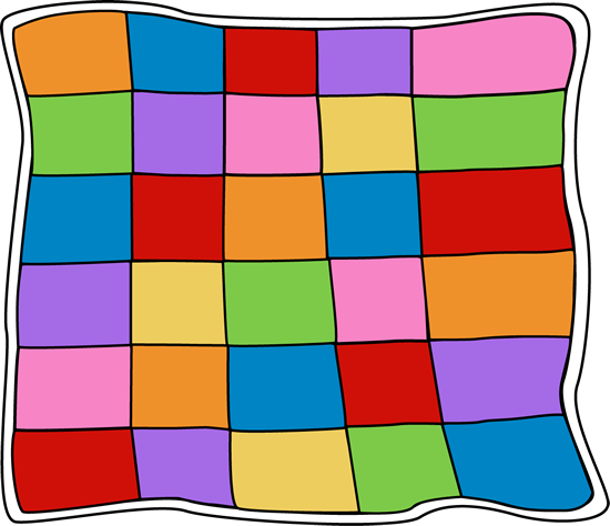 Quilt clip art pictures. Free quilting clipart images