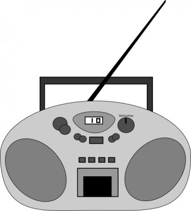 And vector graphics me. Free radio clipart