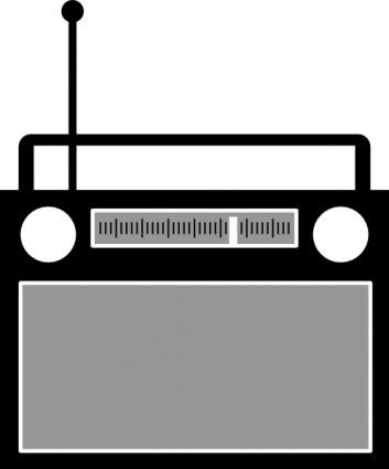 Free radio clipart. Clip art panda images