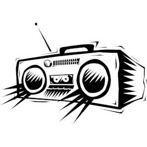 Cliparts of download wmf. Free radio clipart