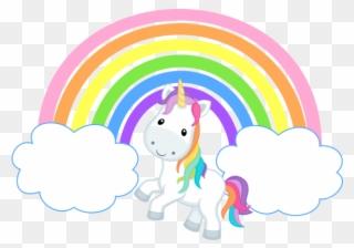 Free rainbow unicorn clipart graphic black and white stock Free PNG Rainbow Unicorn Clip Art Download - PinClipart graphic black and white stock