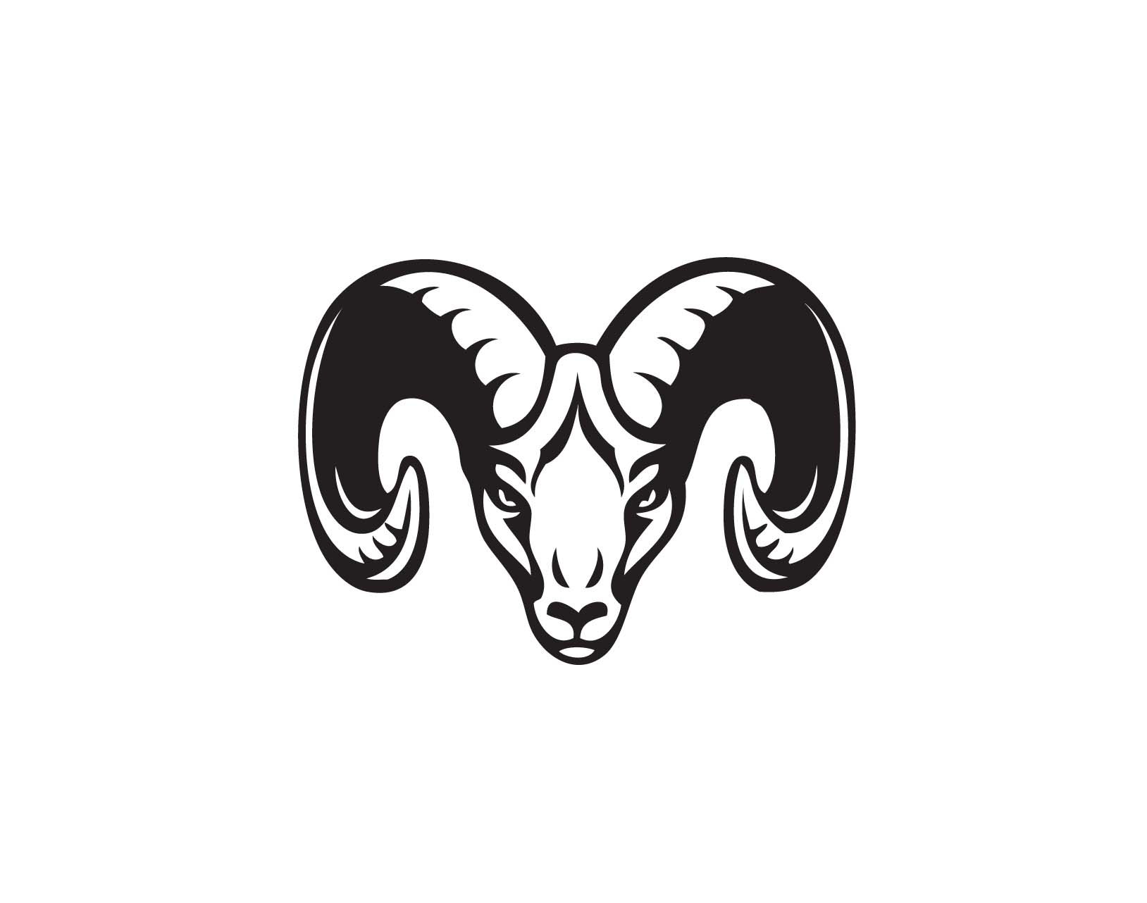 Free ram head clipart image black and white download Free Ram Head Cliparts, Download Free Clip Art, Free Clip Art on ... image black and white download
