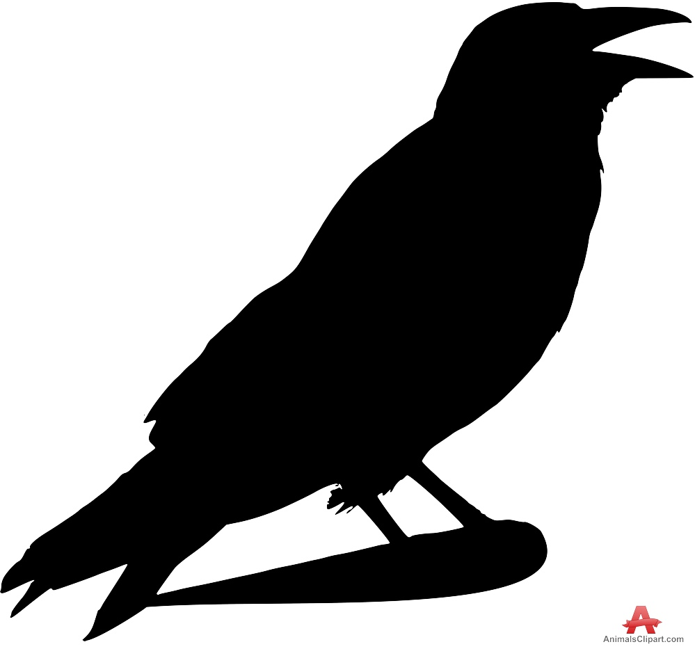 Silhouette cliparts download clip. Free raven clipart