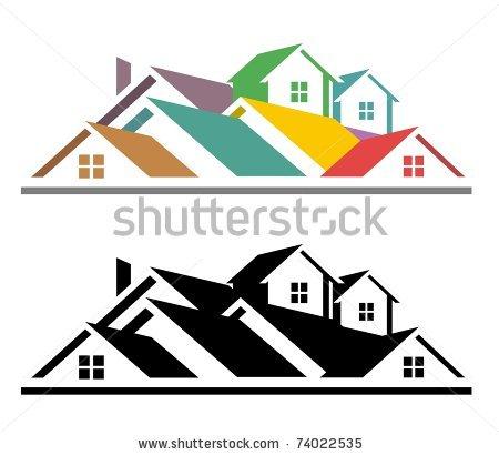 Free real estate clipart clip black and white Real Estate Clip Art | Clipart Panda - Free Clipart Images clip black and white