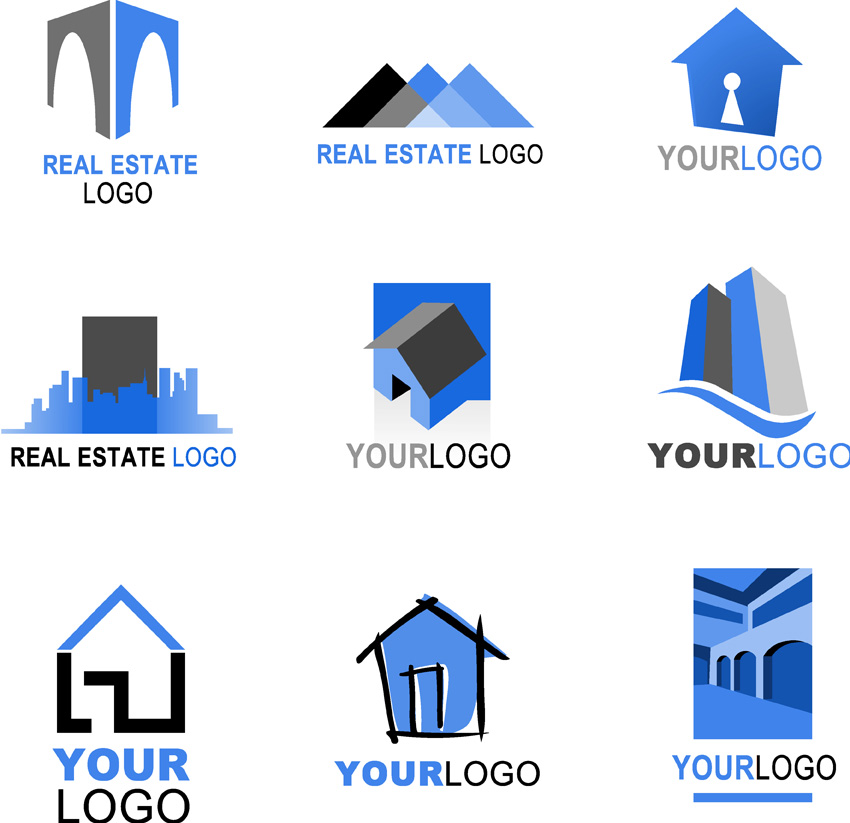 Free real estate logo clipart clip art library Free real estate logo clipart - ClipartFest clip art library