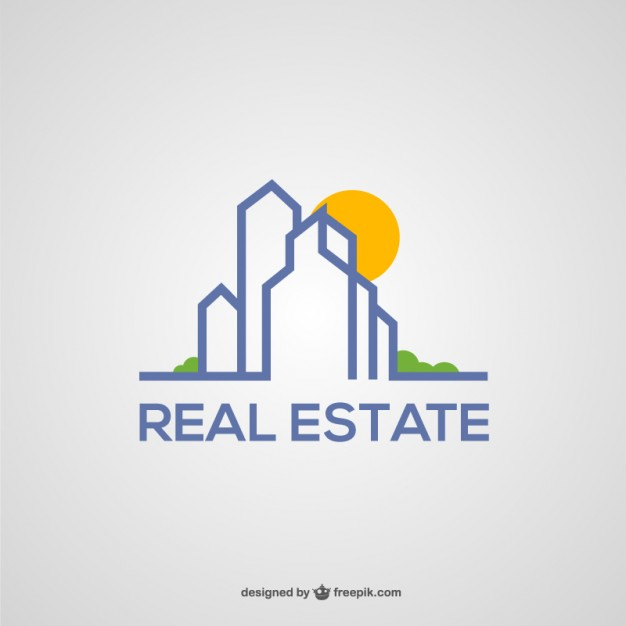 Free real estate logo clipart vector library stock Real estate logo Vector | Free Download vector library stock