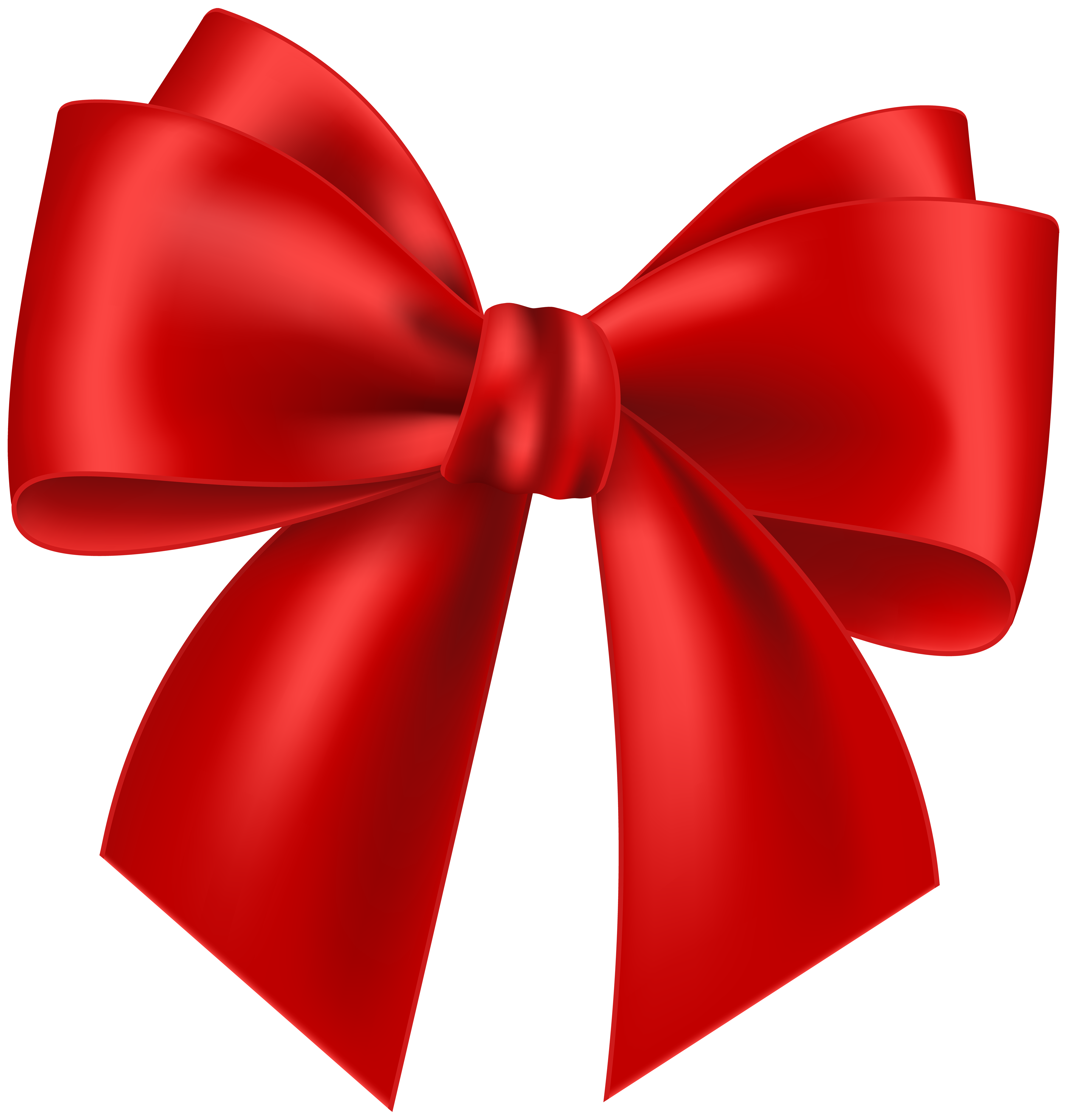 Free red bow clipart png black and white Red Bow Transparent Clip Art Image | Gallery Yopriceville - High ... png black and white