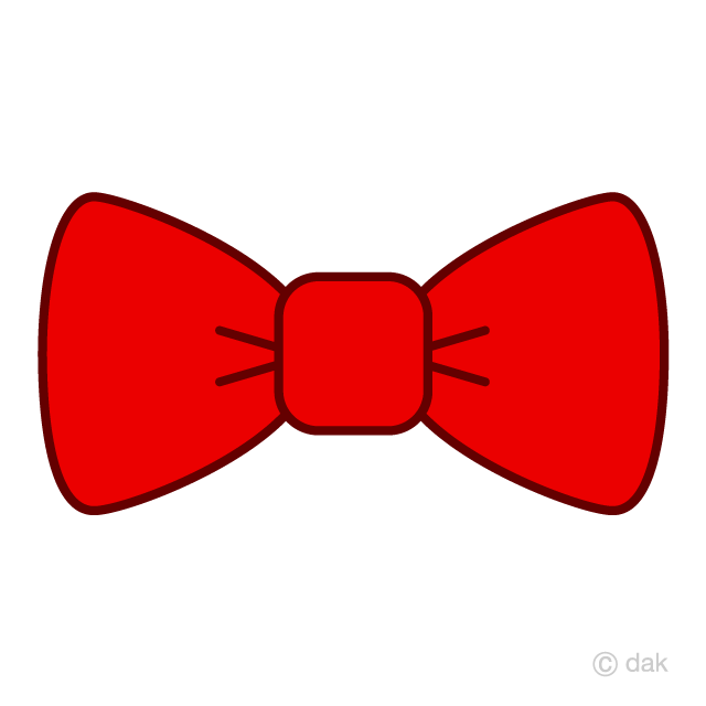 Free red bow clipart image royalty free library Red Bow Tie Clipart Free Picture|Illustoon image royalty free library