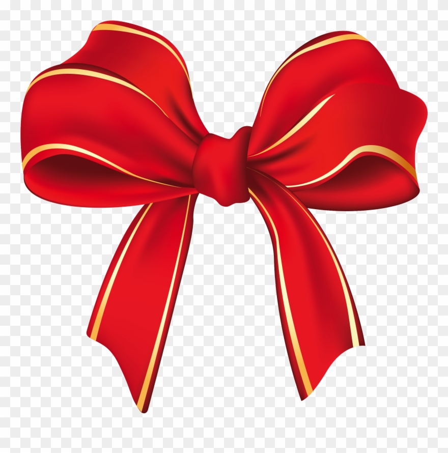 Free red bow clipart graphic transparent download Bow Clip Art Images Free Download - Christmas Bow Png Transparent ... graphic transparent download