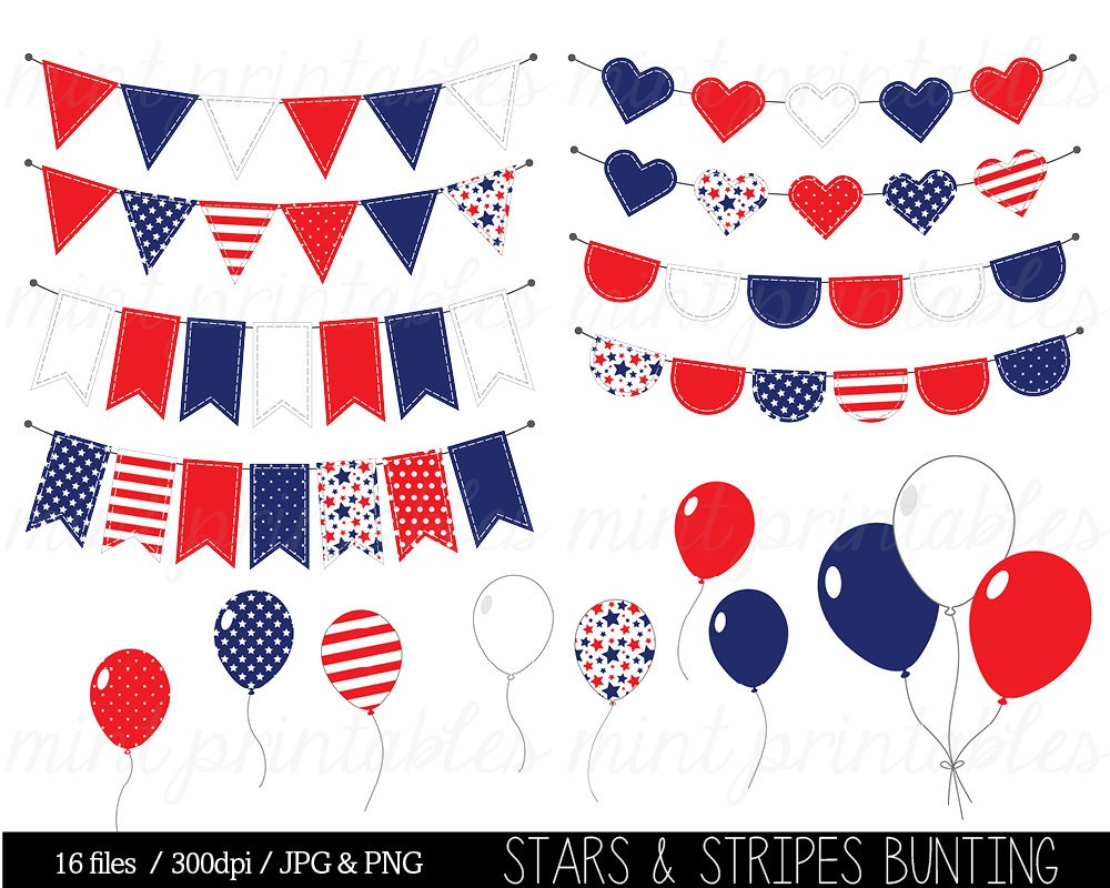 Free red white and blue banner clipart picture free Free Patriotic Bunting Cliparts, Download Free Clip Art, Free Clip ... picture free