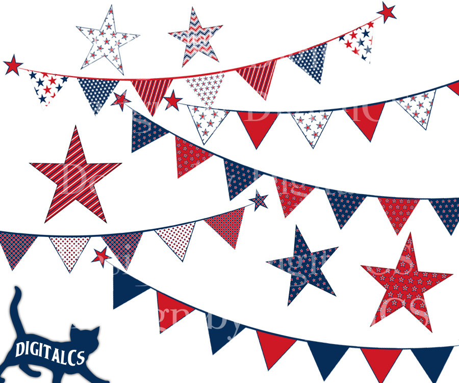 Free red white and blue banner clipart image royalty free stock Free Patriotic Bunting Cliparts, Download Free Clip Art, Free Clip ... image royalty free stock