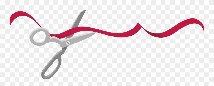 Free ribbon cutting clipart clip stock Ribbon Cutting Clipart - Ribbon Cutting Vector Png Transparent Png ... clip stock