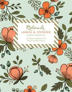 Free rifle paper co clipart clipart royalty free Details about Botanicals Labels & Stickers: Rifle Paper Co. by Rifle Paper  Co. (English) Free clipart royalty free