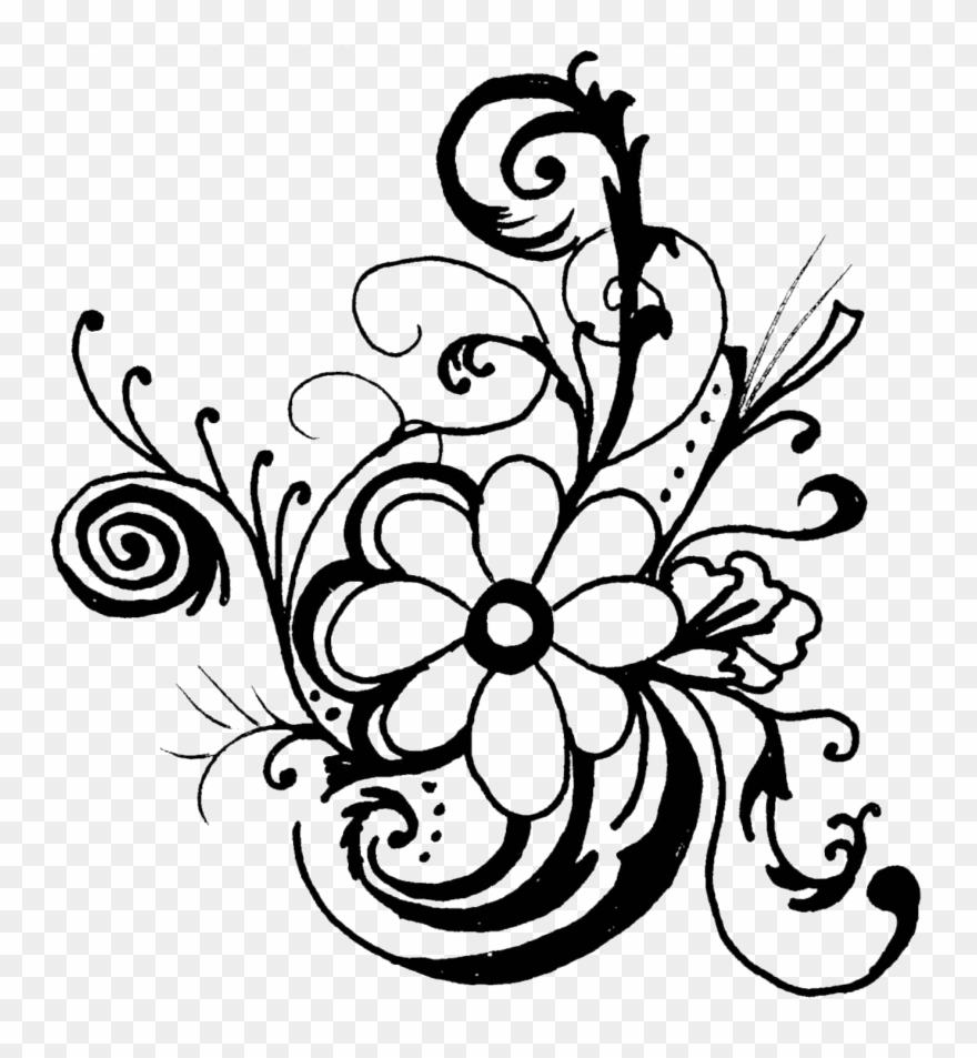 Free rose garland clipart black and white picture transparent Flower Garland Drawing | Free download best Flower Garland Drawing ... picture transparent