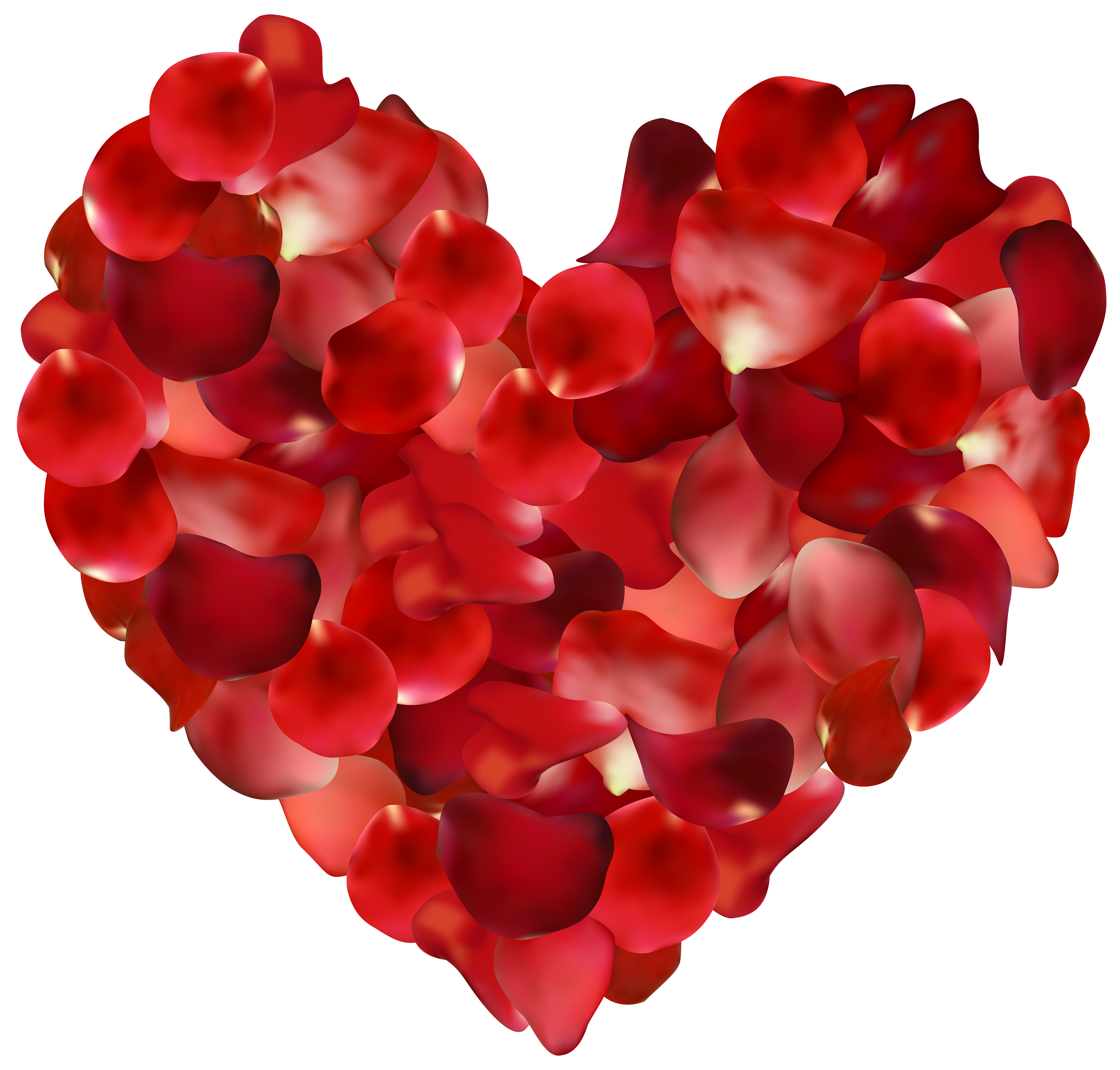 Free rose heart clipart clipart free download Petal Rose Heart Clip art - Rose Petals Hearts Transparent PNG Clip ... clipart free download