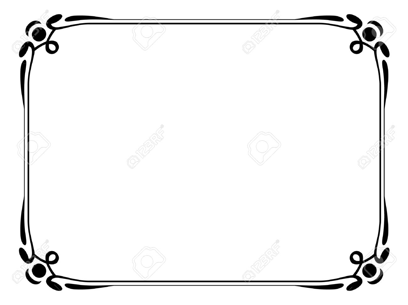 Collection of download best. Free round ornamental line borders clipart free