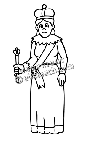 Free royal family clipart black and white. Clip art queen panda