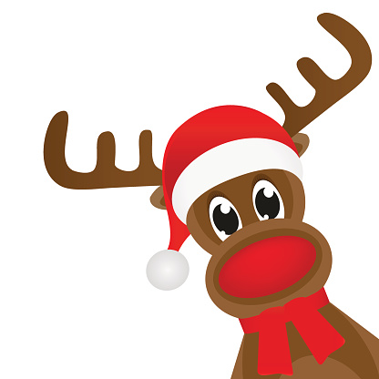 Silhouette clipart rudolph red nosed reindeer image free stock Rudolph The Red Nosed Reindeer Clipart Sketch 275 - Clipart1001 ... image free stock