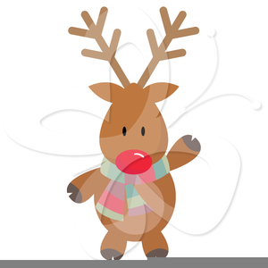Images at clker com. Free rudolph clipart