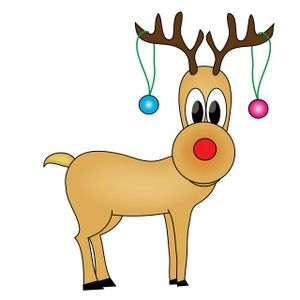 Holiday clip art reindeer. Free rudolph clipart