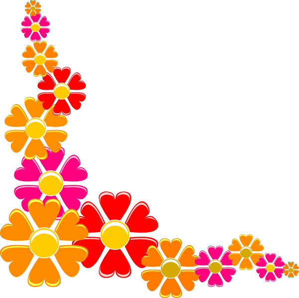 Free rustic flower clipart free Orange Flower Clipart Flowery Free collection   Download and share ... free