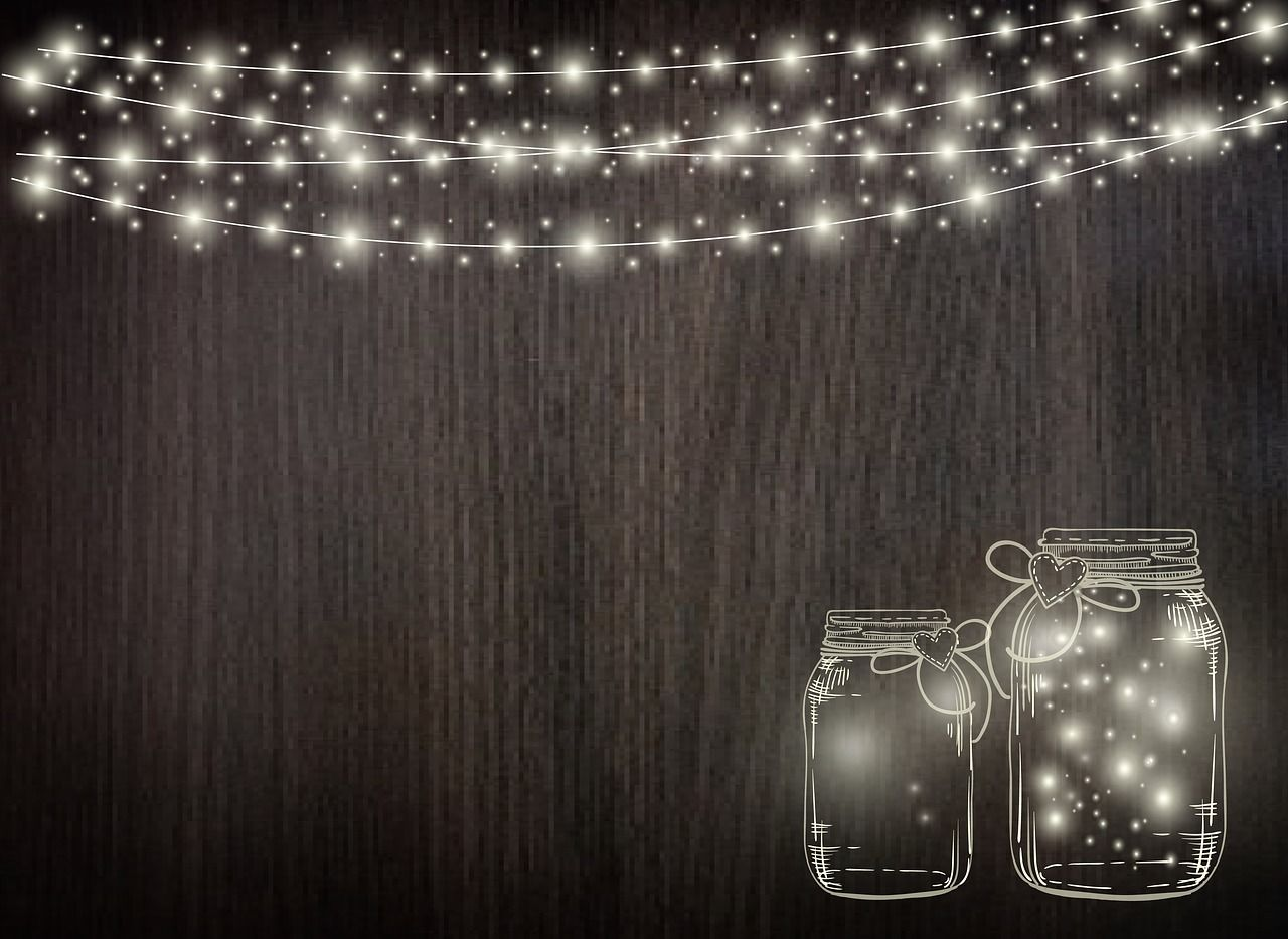 Free rustic hanging lights clipart transparent background banner black and white library Free Image on Pixabay - Magical, Fairy, String-Lights | Graphics in ... banner black and white library