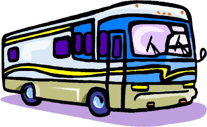 Free rv clipart images. Motorhome clip art funny