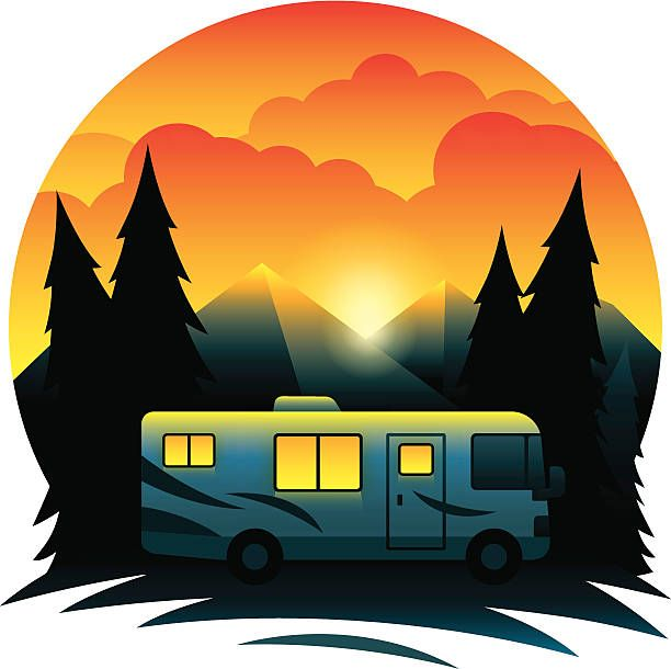 Class a clip art. Free rv clipart images