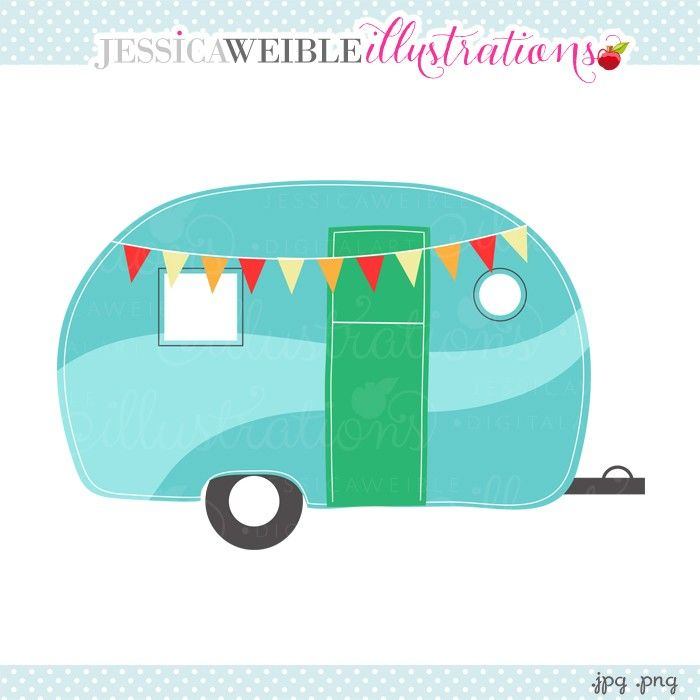 Camper clipart images clipart library stock Free Retro Camper Cliparts, Download Free Clip Art, Free Clip Art on ... clipart library stock