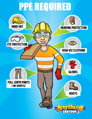 Posters and anything . Free safety cartoon clipart
