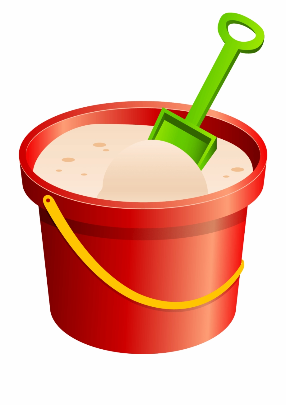 Shovel clip art transparent. Free sand bucket clipart