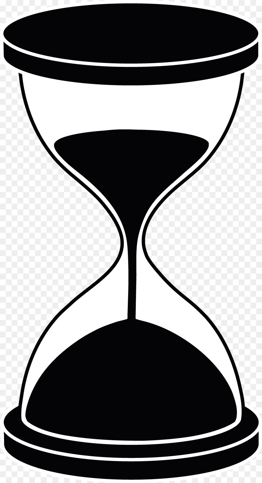 Free sand timer clipart. Clock cartoon png download