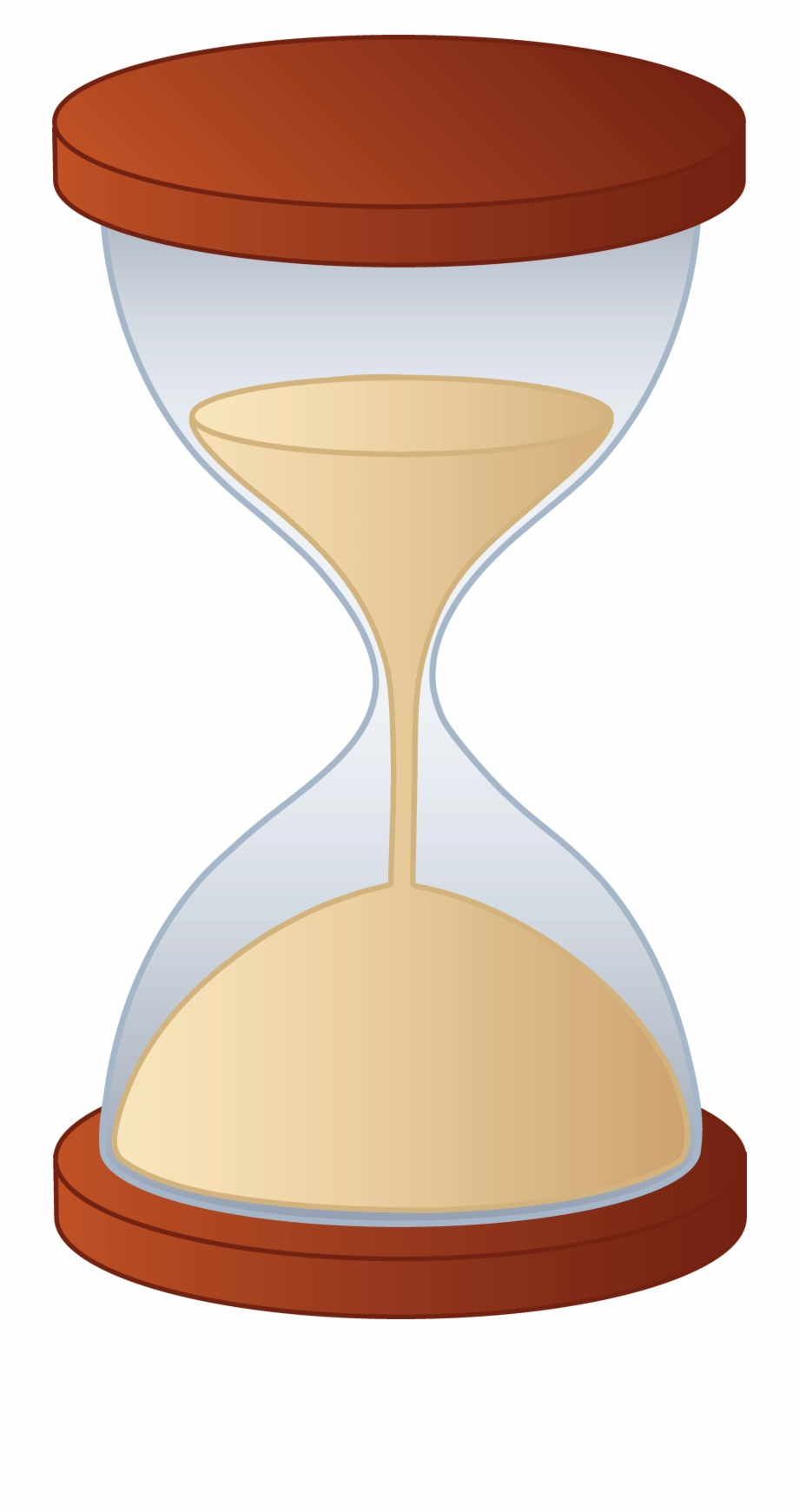 Free sand timer clipart