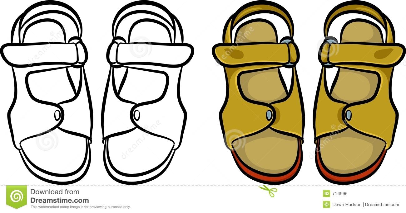 Free sandal clipart. Sandals cliparts download best
