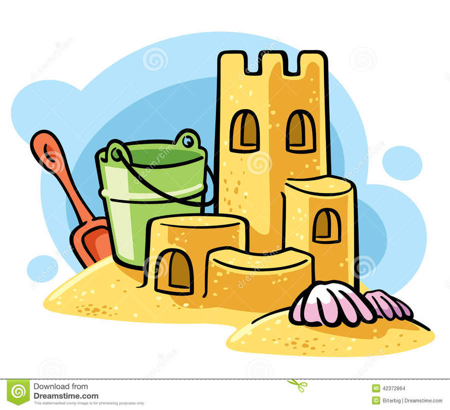 Free sandcastle clipart. Sand art and play