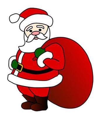 Free santa clipart jpg