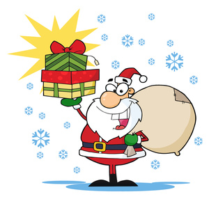 Free santa clipart jpg black and white Free Santa Clip Art & Santa Clip Art Clip Art Images - ClipartALL.com black and white