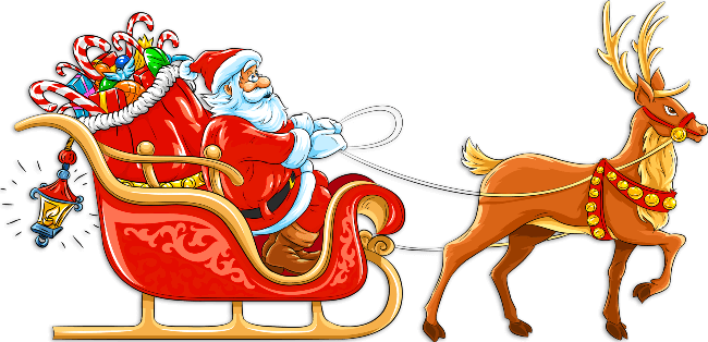 Free santa clipart with sleigh banner stock Santa Sleigh Clipart - Clipart Junction banner stock