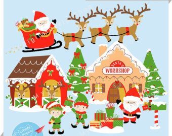 Free santa s workshop clipart clipart Free Santa Workshop Cliparts, Download Free Clip Art, Free Clip Art ... clipart