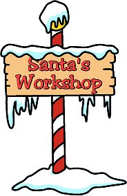 Free santa s workshop clipart clipart freeuse library SANTAS WORKSHOP | CLIP ART - SANTA CLAUS - #423415 - Clipartimage.com clipart freeuse library