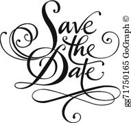 Clip art royalty gograph. Free save the date clipart