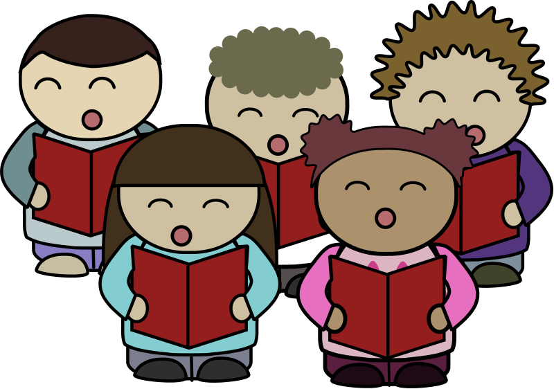 High school choir clipart graphic download Image of School Children Reading Clipart #8937, Children Clip Art ... graphic download